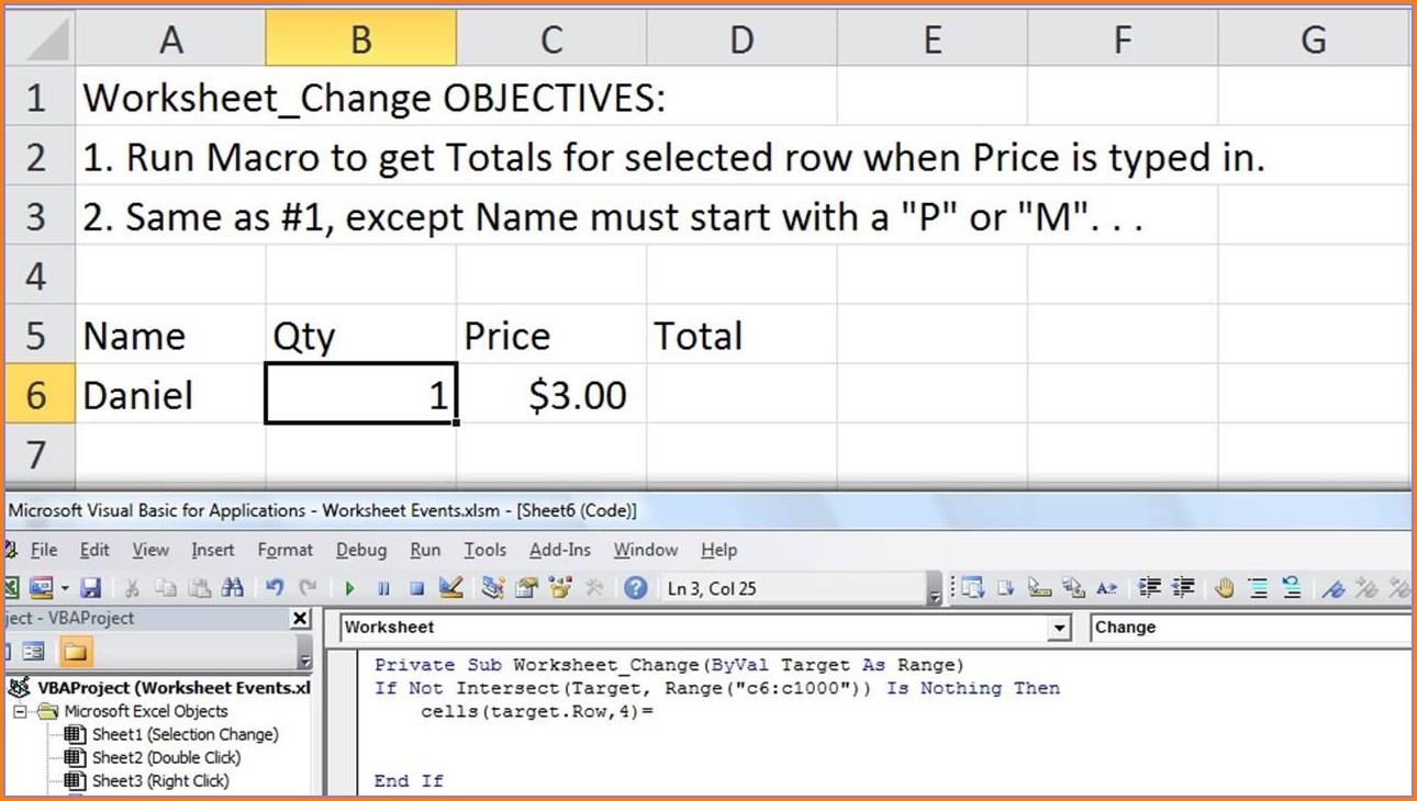 Excel Vba Set Worksheet Cell Value