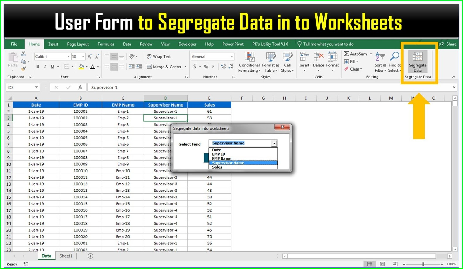 Excel Vba Worksheet Sort