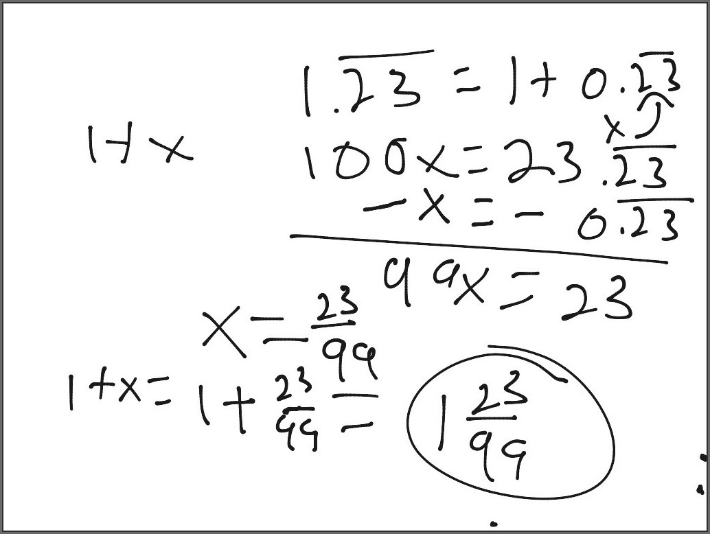 Fifth Grade Math Worksheets And Answers
