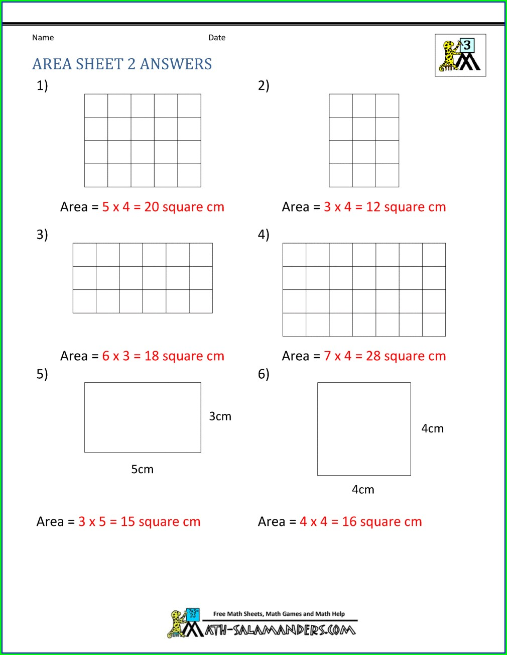 Finding Area Of Irregular Shapes Worksheet Pdf