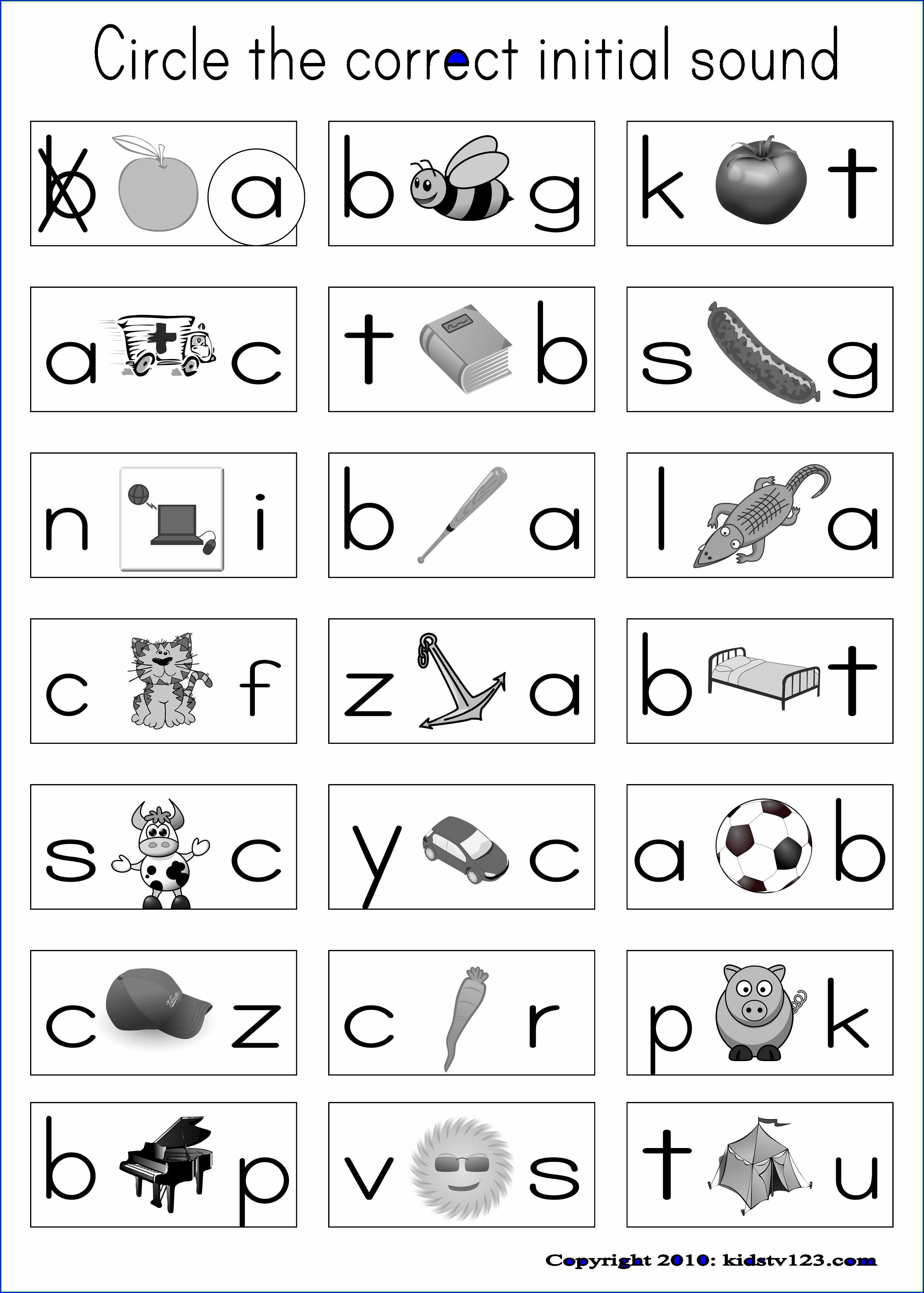 First Grade English Worksheet Pdf