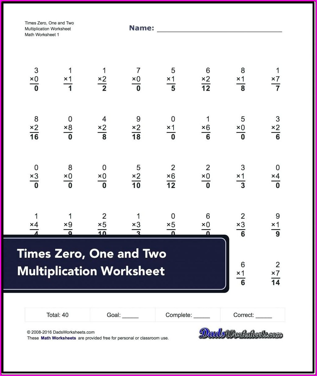 First Grade Enrichment Worksheets