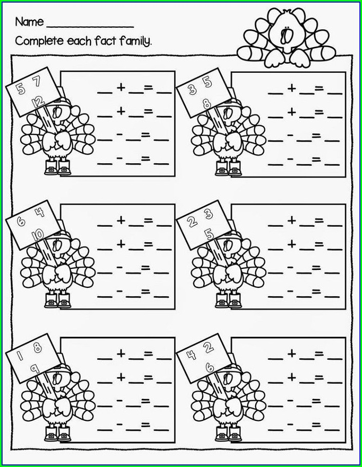 First Grade Printable Math Games For 1st Grade