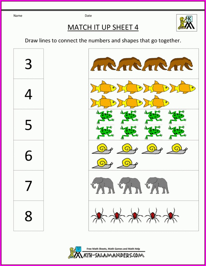 Free Online Math Coloring Worksheets