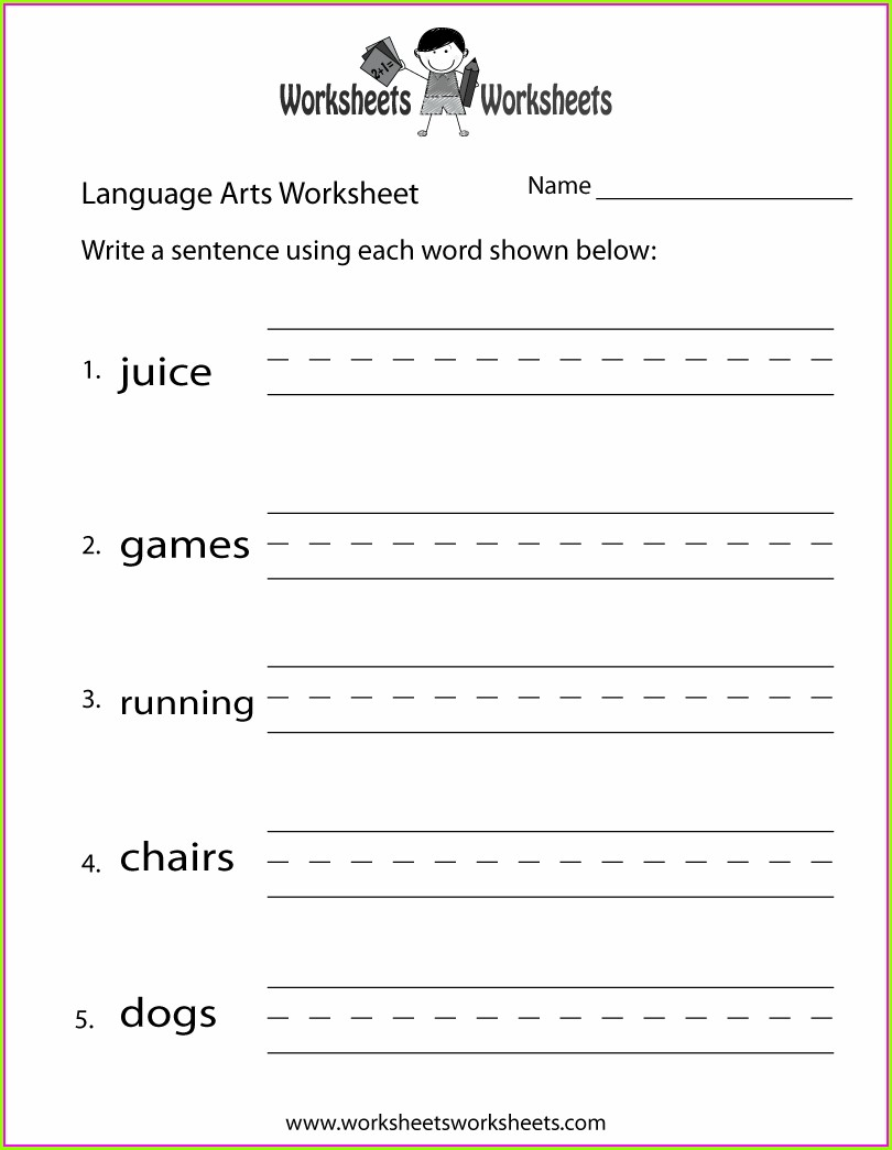 Free Printable 3rd Grade Language Arts Worksheets