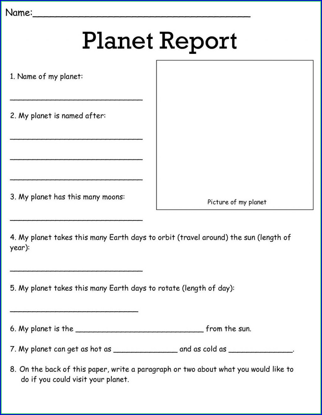 Free Printable 5th Grade Science Worksheets For Grade 5
