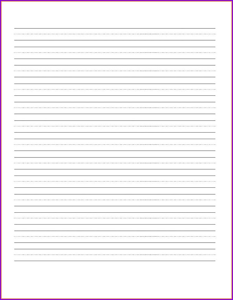 Free Printable Cursive Writing Paper