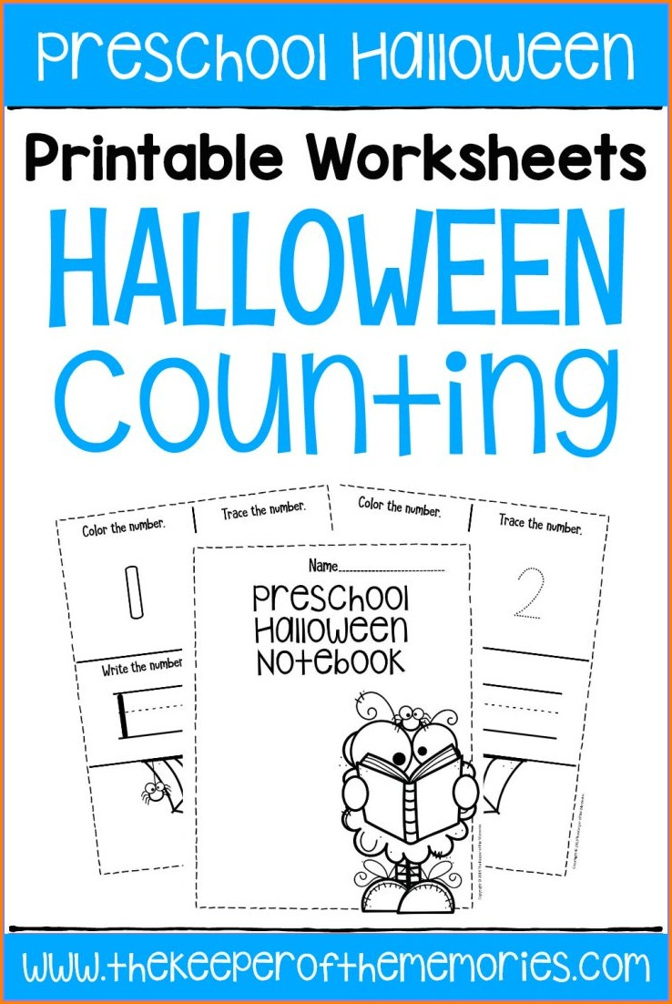 Free Printable Preschool Counting Worksheets