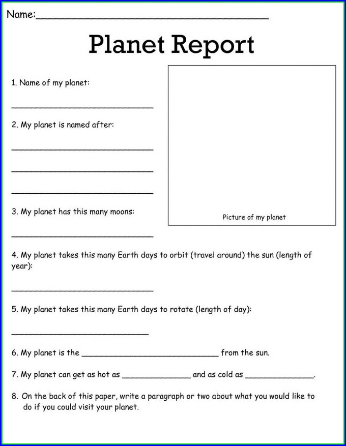 Free Printable Science Worksheet For 2nd Grade