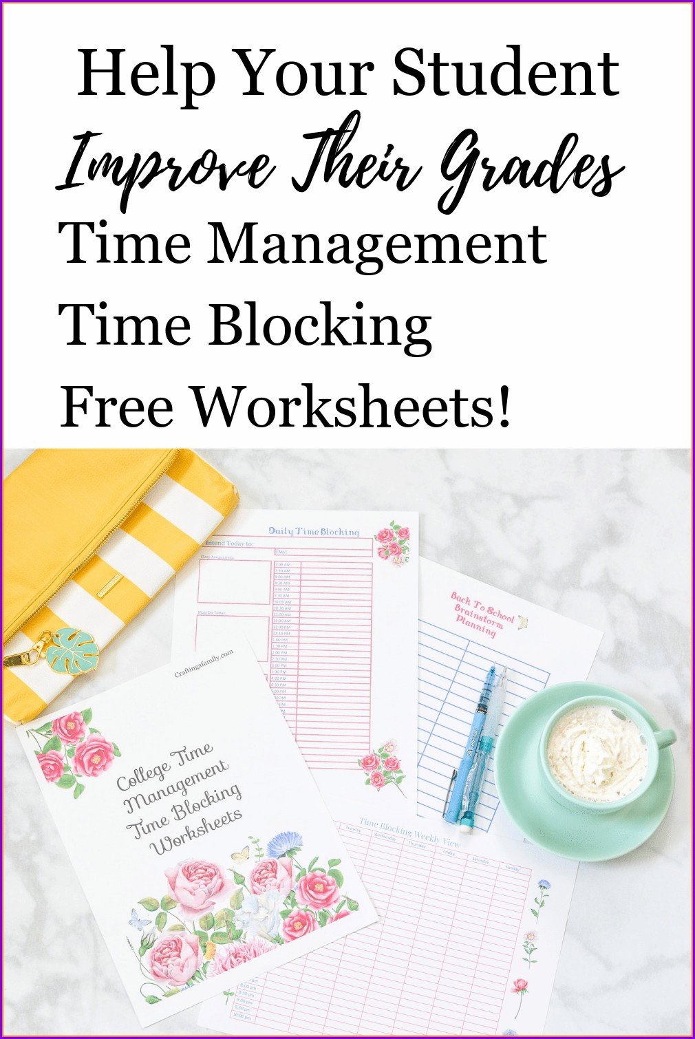 Free Printable Time Management Worksheets
