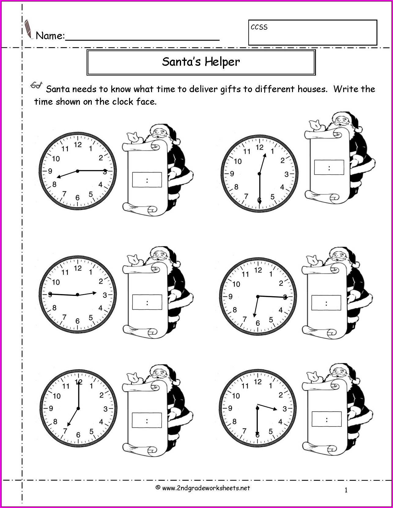 Free Printable Worksheet For Sight Words