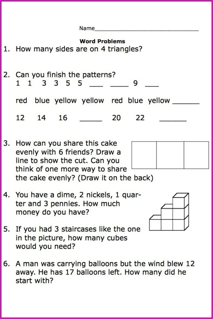 Free Printable Worksheets For 2nd Grade Math