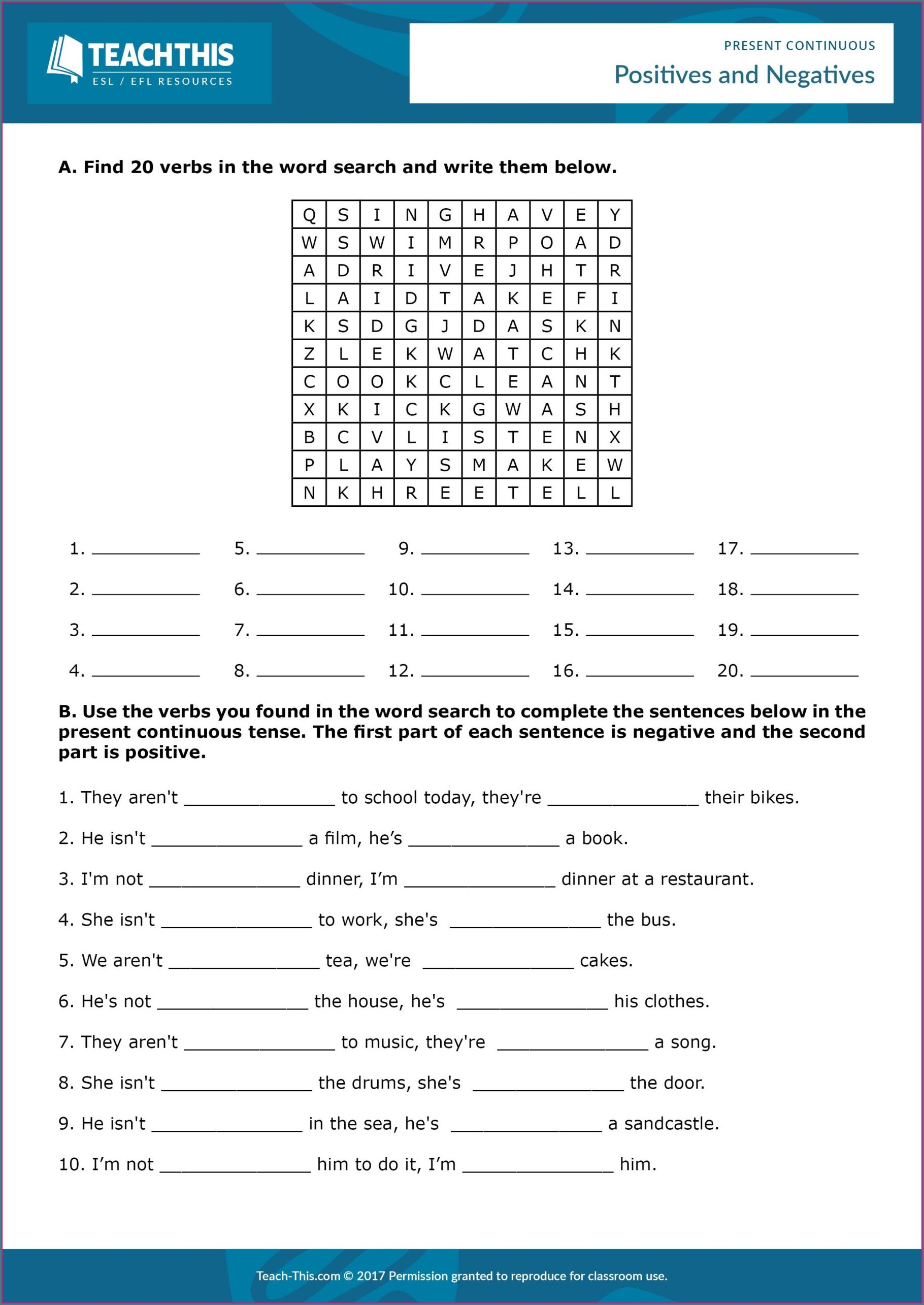 Free Printable Worksheets For Adults