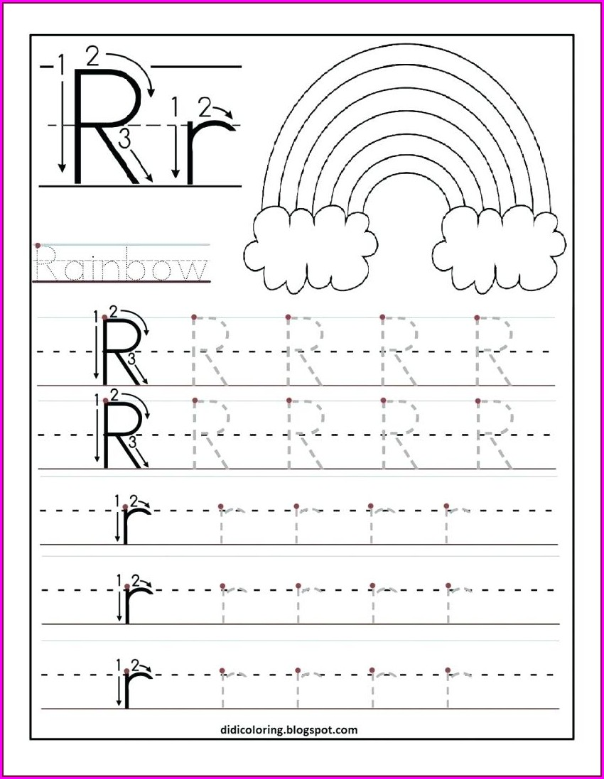 Free Printable Worksheets For Kindergarten Writing