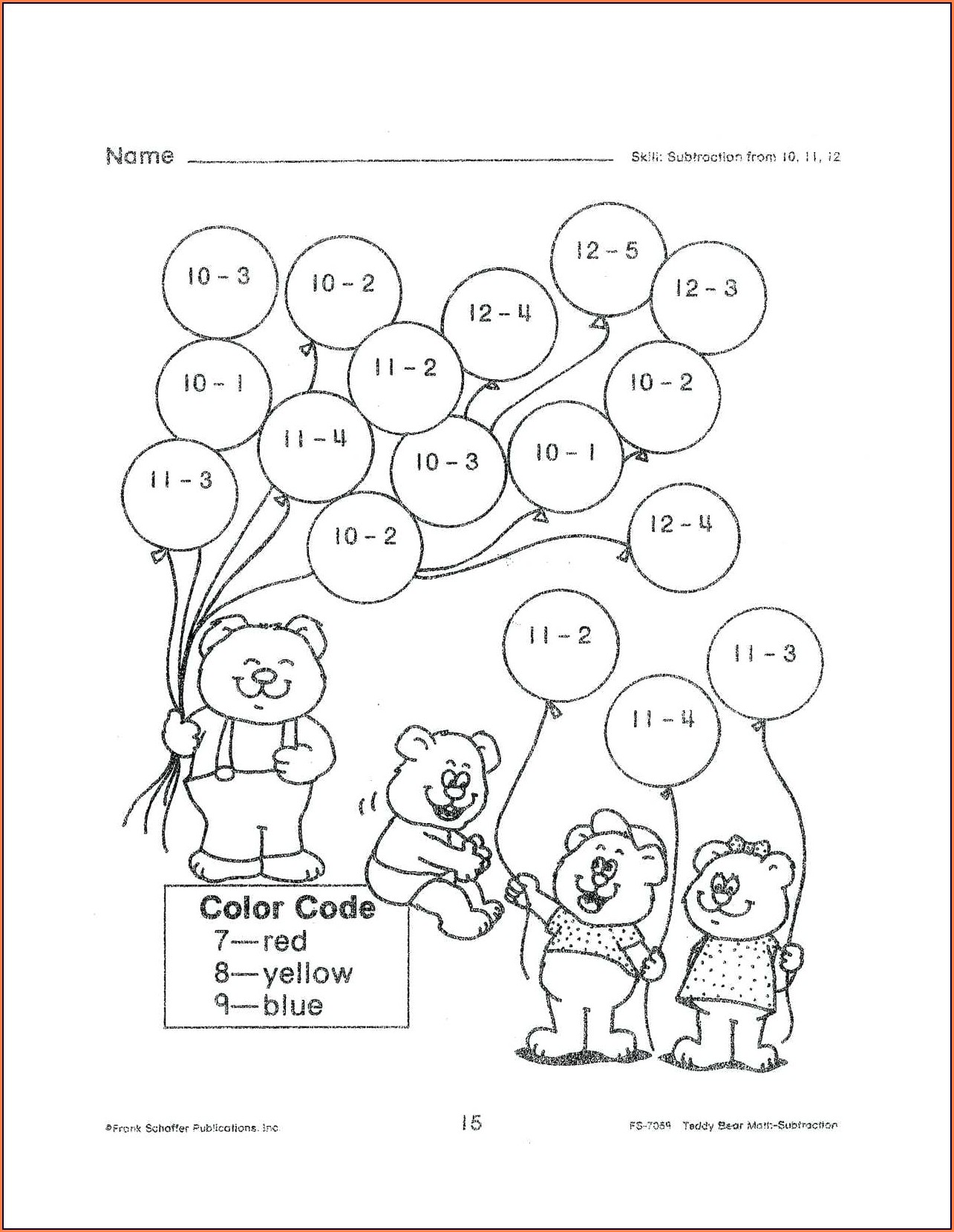 Fun Math Worksheet Activities