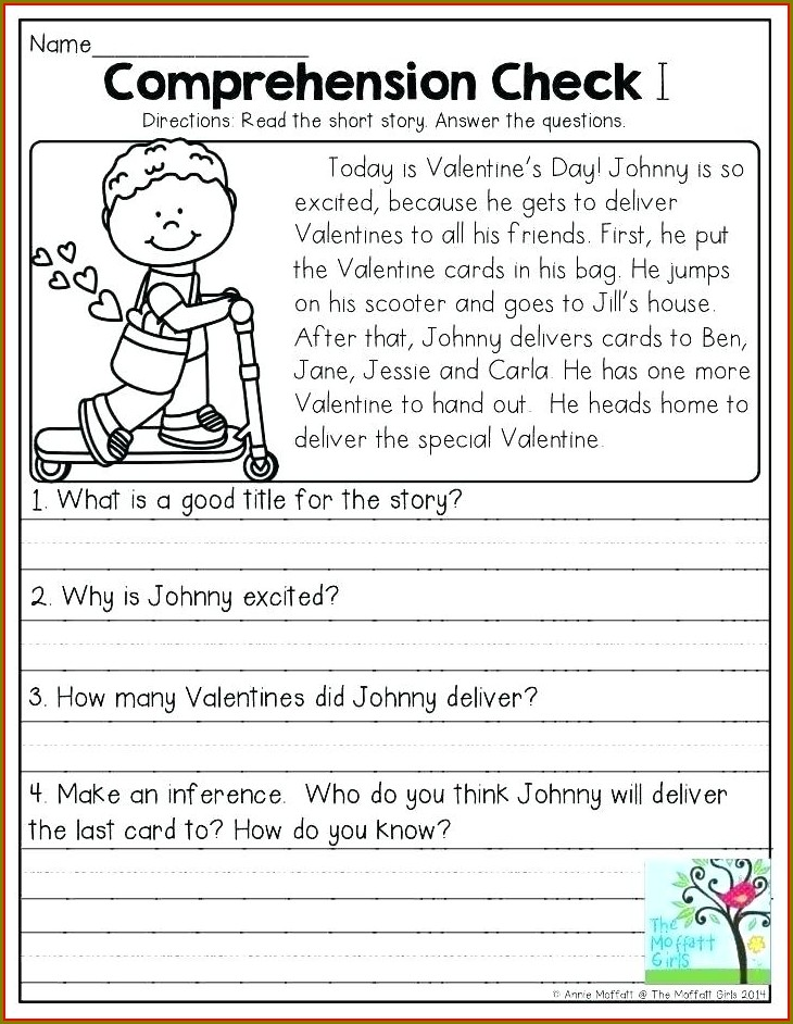 Grade 1 Reading Worksheets Pdf