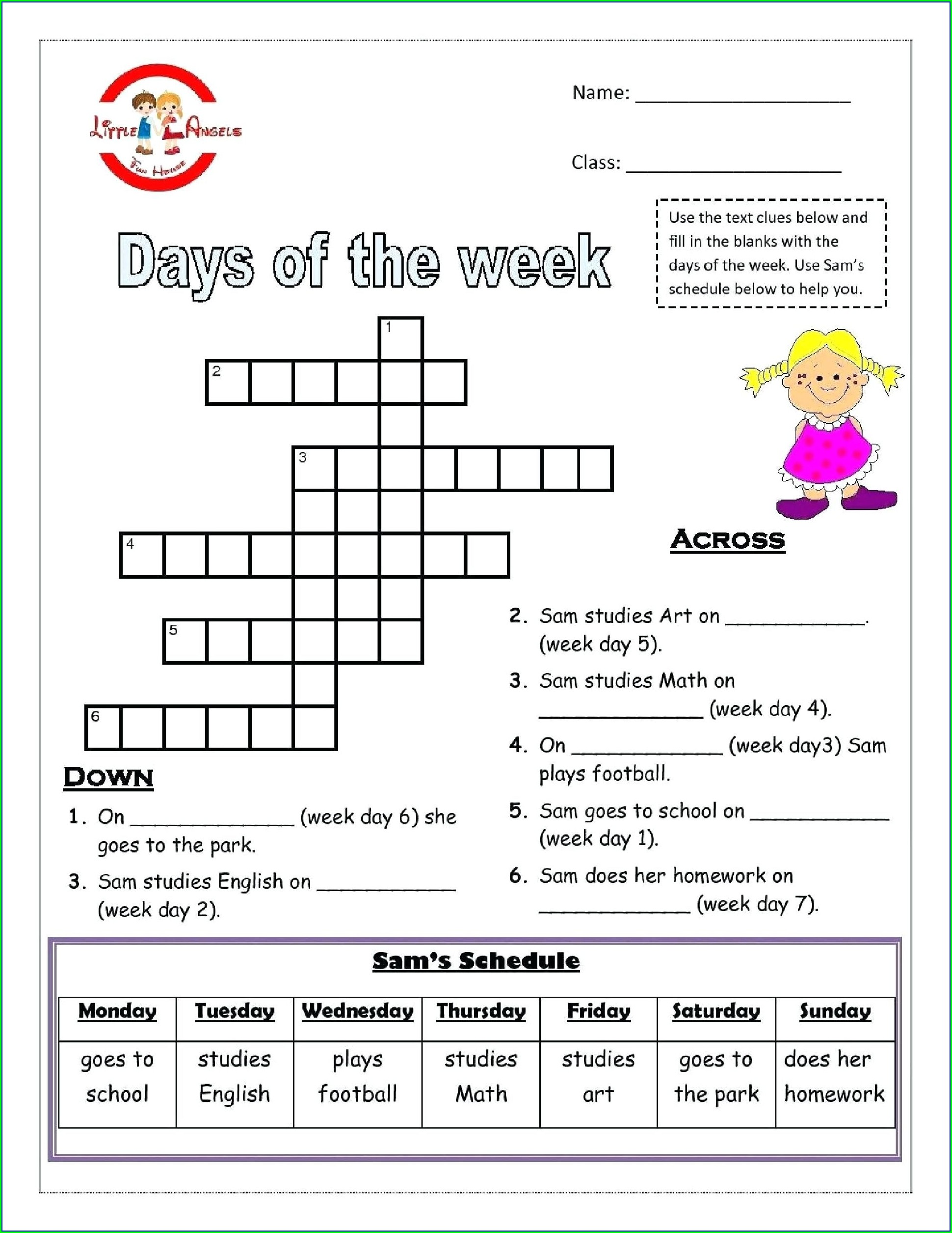 Grade 3 English Worksheets Printable