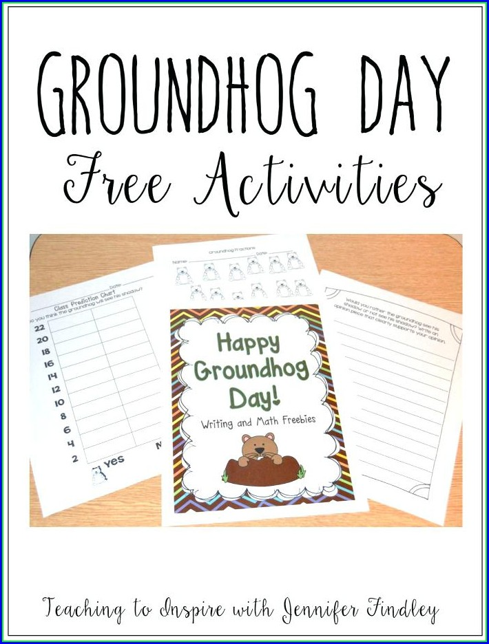 Groundhog Day Worksheet Preschool