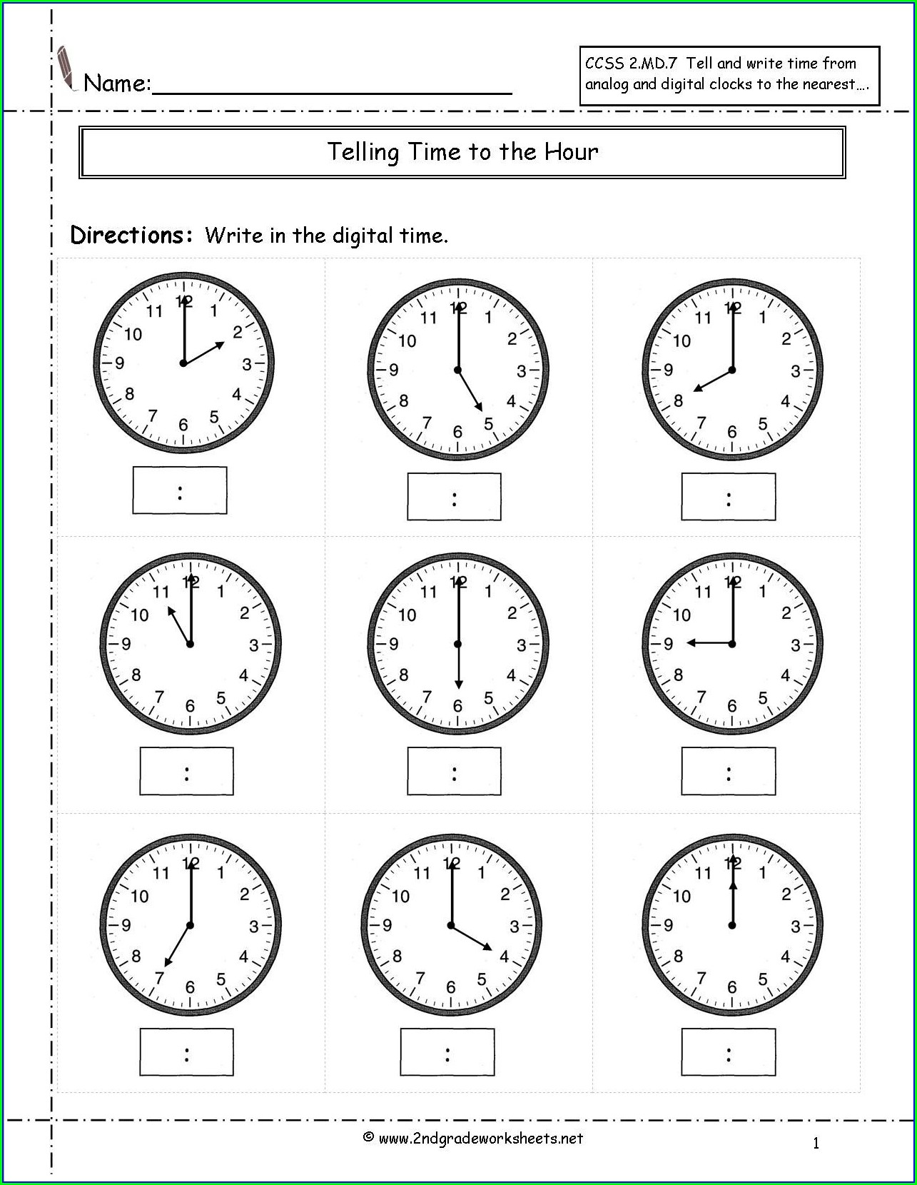 Math Addition Drill Worksheets