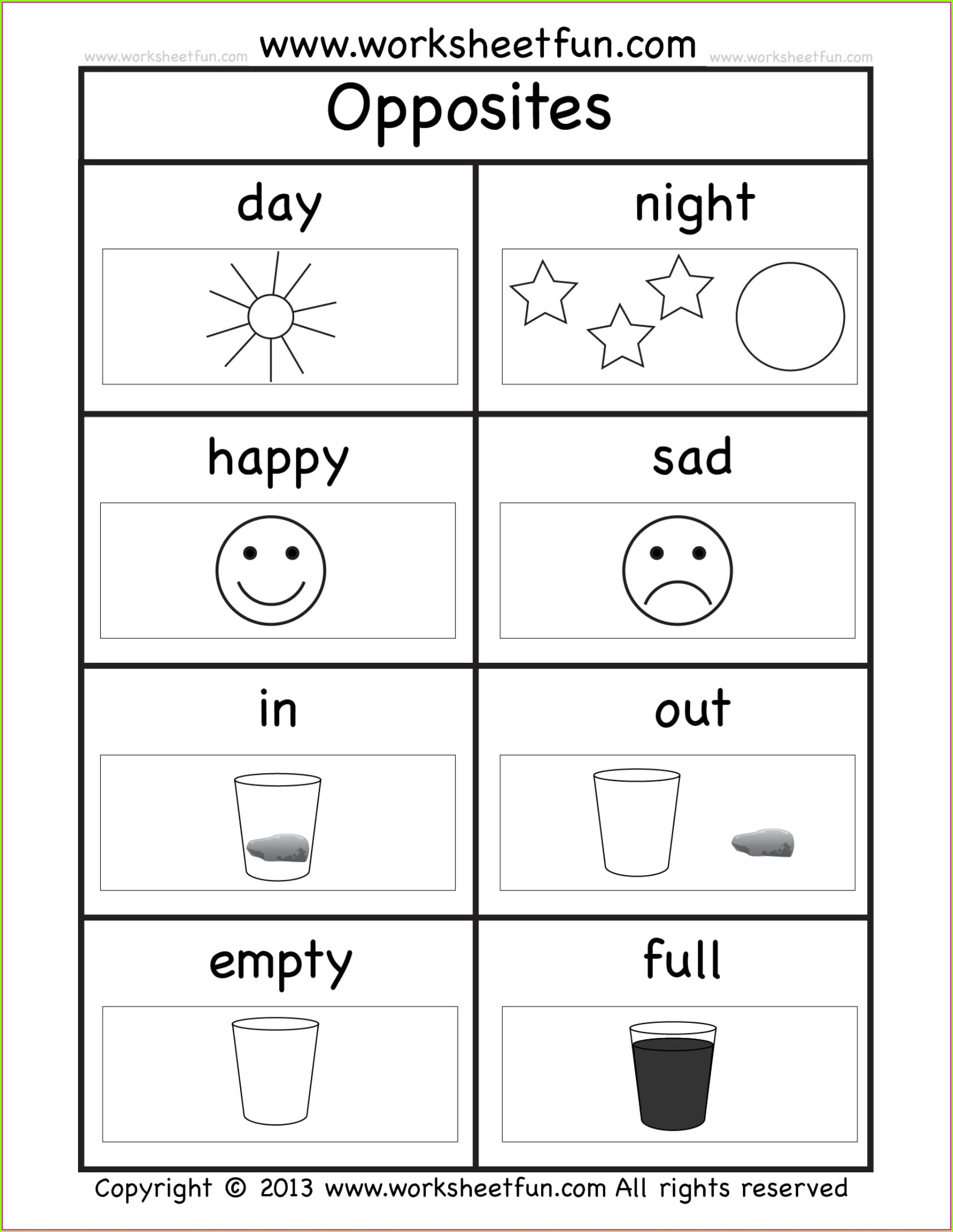 Math Worksheet Kindergarten Pdf