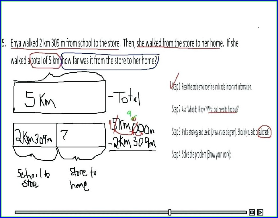 Math Worksheets For Grade 2 Division Word Problems