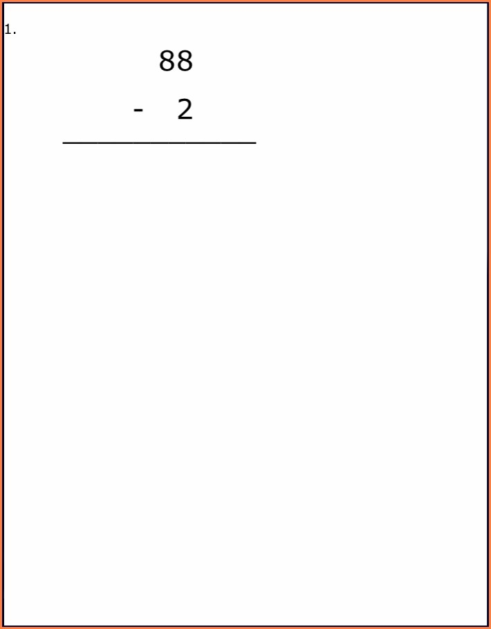 Math Worksheets Grade 2 Canada