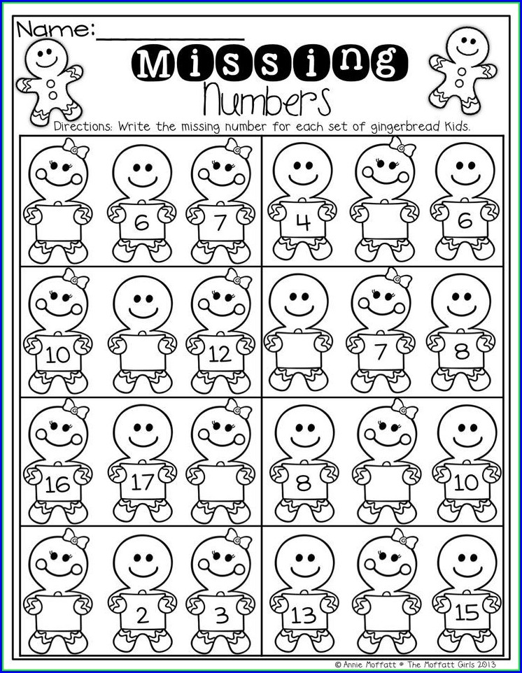 Math Worksheets What Number Comes Before