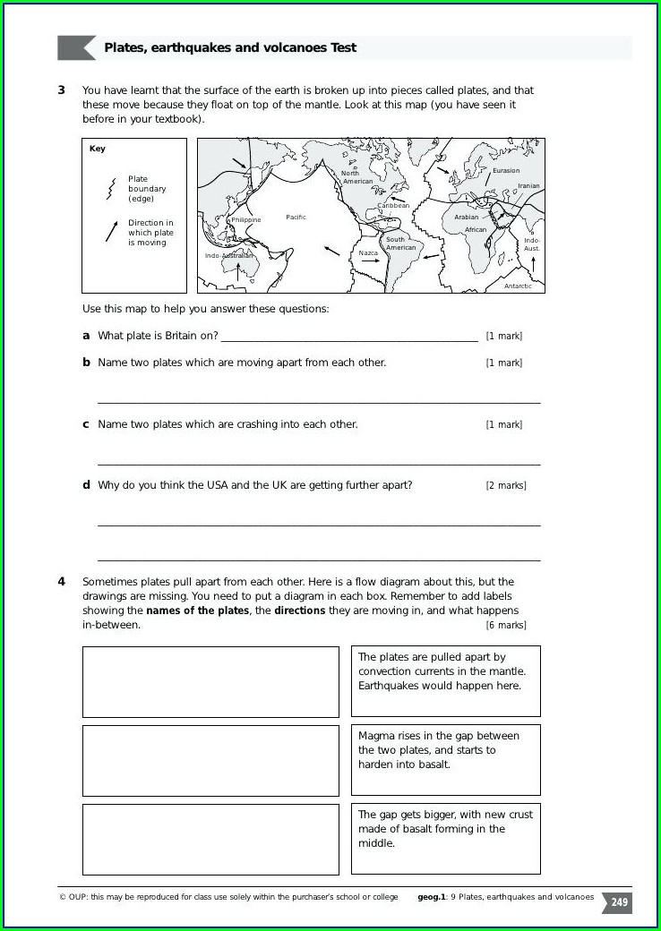 Mr Hoyle Plate Tectonics Worksheet Answers
