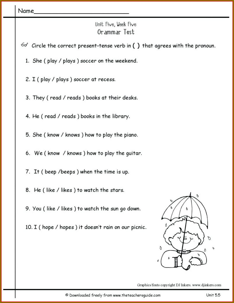 Multiple Meaning Words Worksheets Pdf