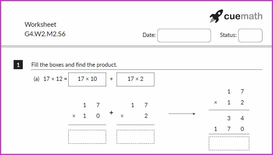 Multiplication And Division Worksheet Grade 2