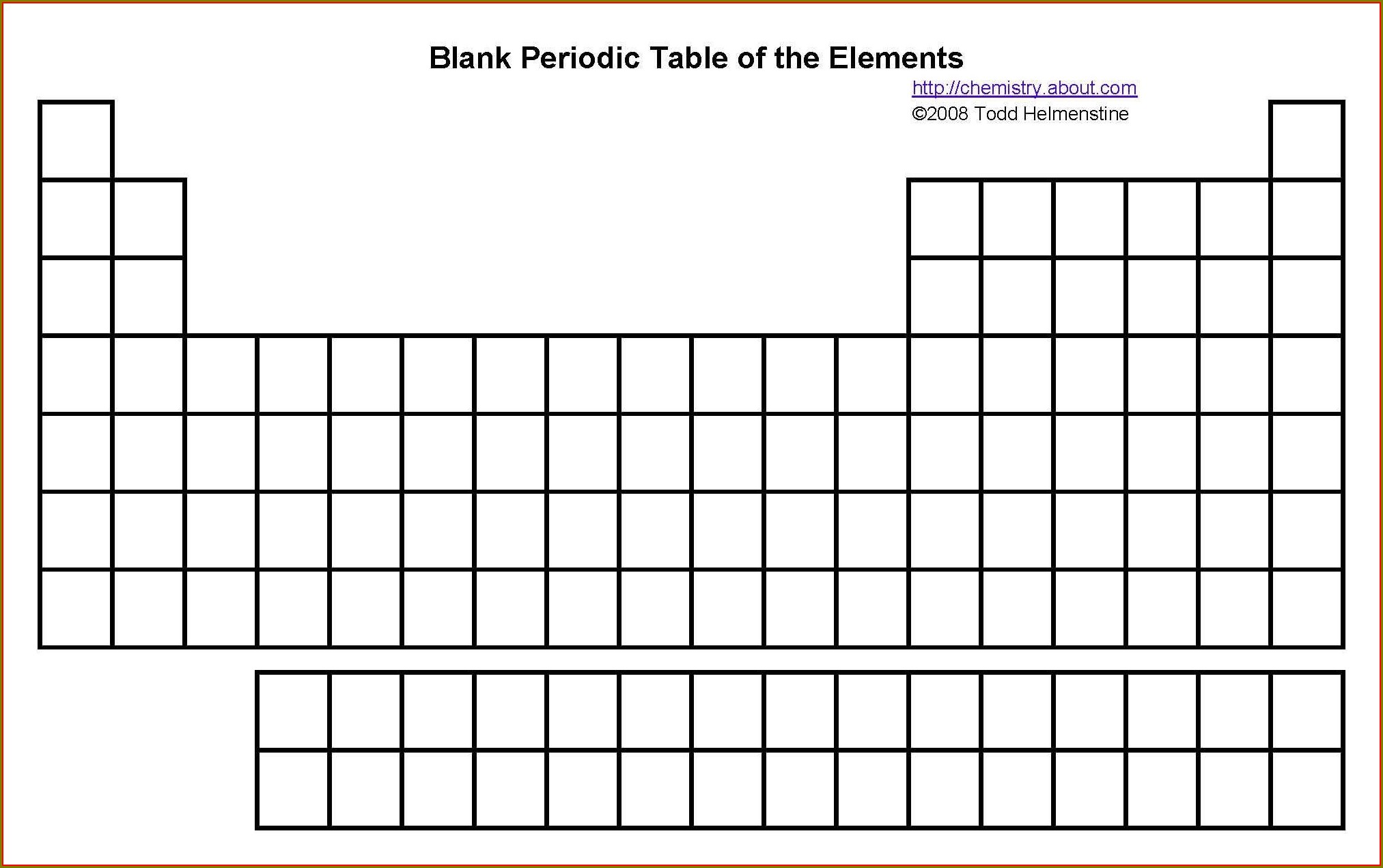 Periodic Table Worksheets For High Schoolpdf