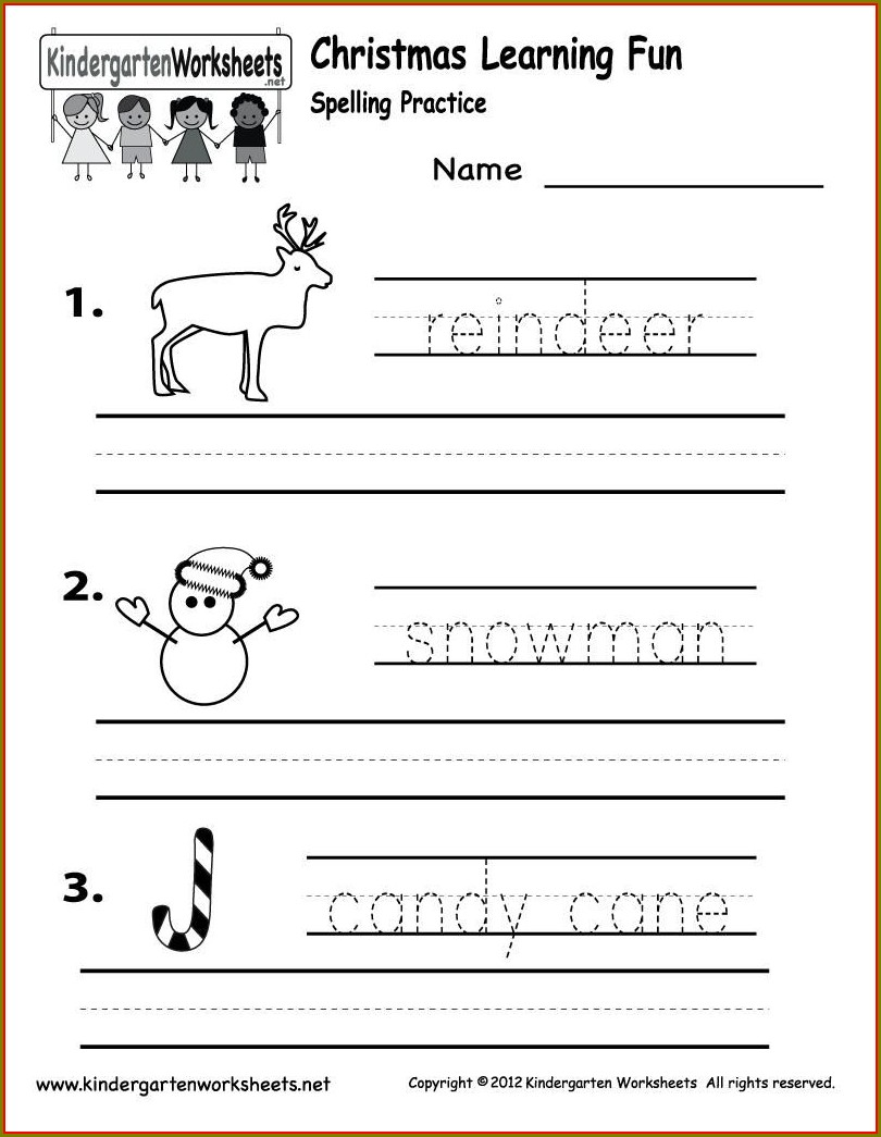 Phonics Worksheets For Kindergarten Pdf
