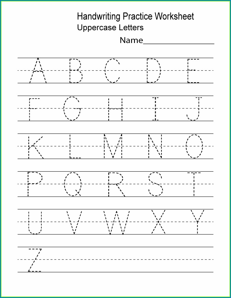 Preschool Number Worksheets Pdf