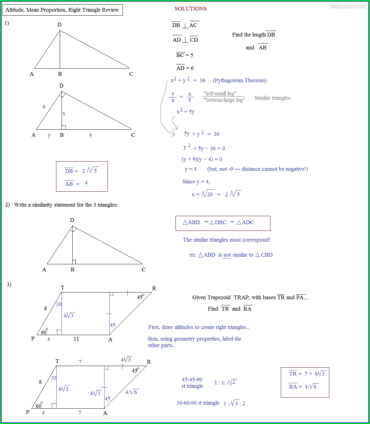 Printable Congruent Triangles Worksheet