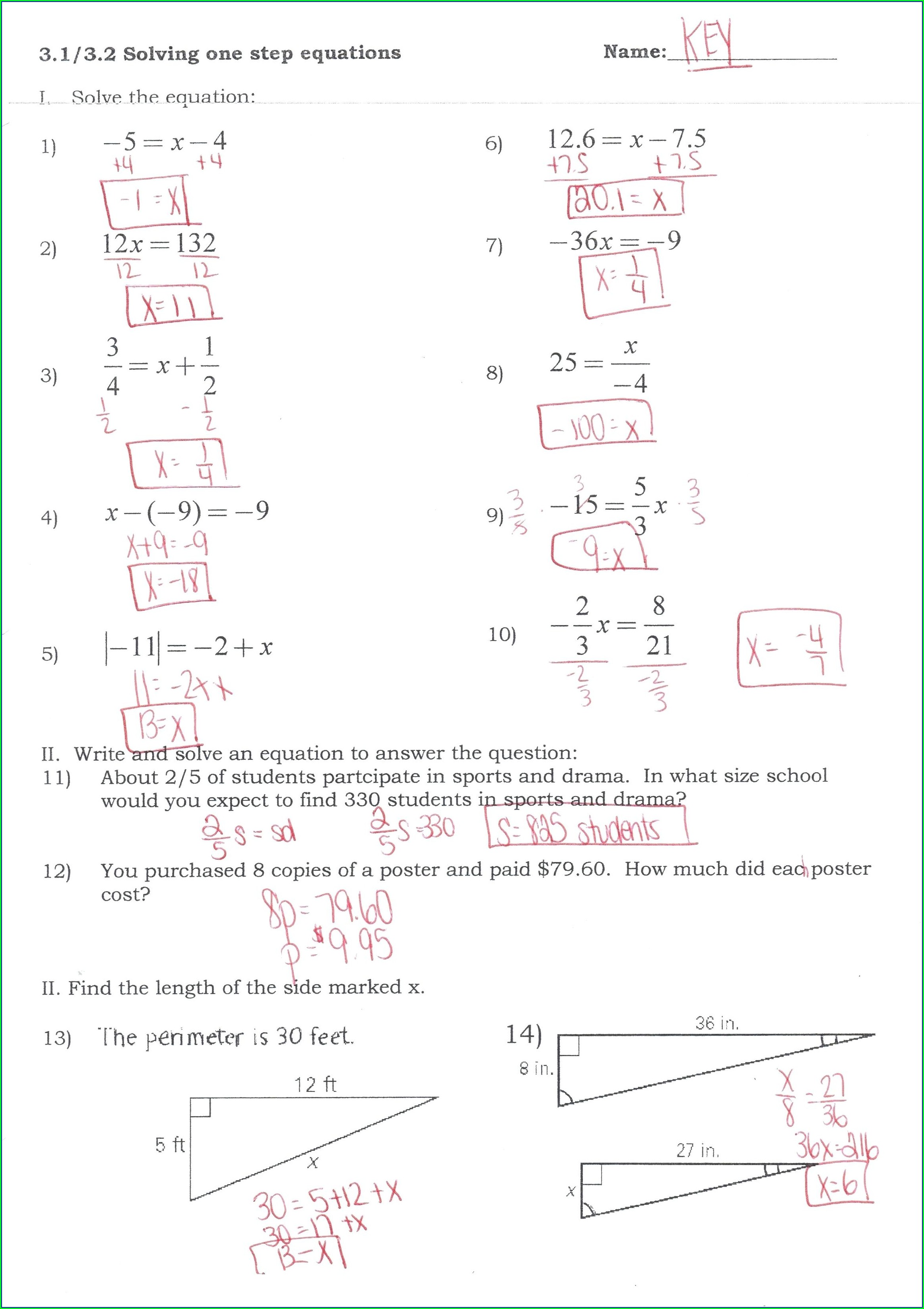 Quadratic Equation Word Problems Worksheet With Answers Pdf