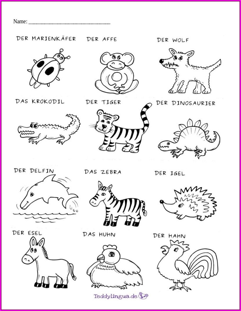 Reading Comprehension Worksheet For Kindergarten Printable