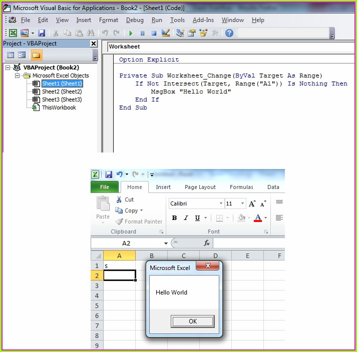 Refresh Workbook Vba Excel