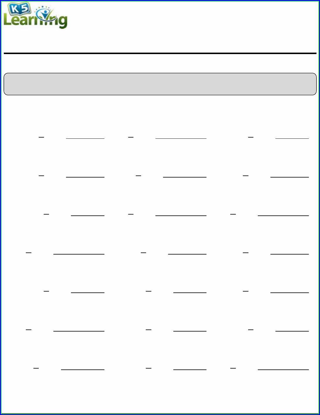 Rounding Numbers To The Nearest 100 Worksheet