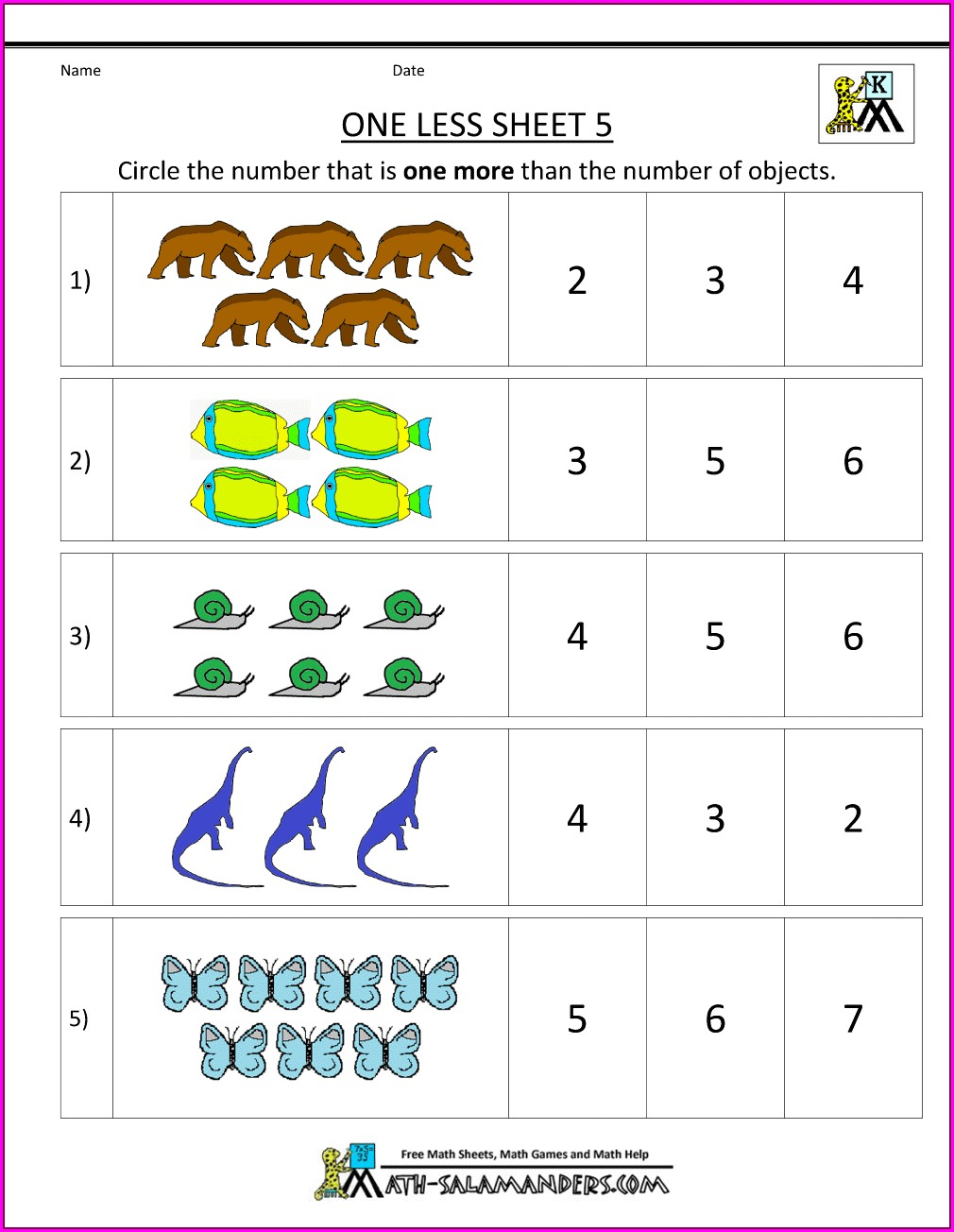 Sentence Writing Worksheet For Kindergarten