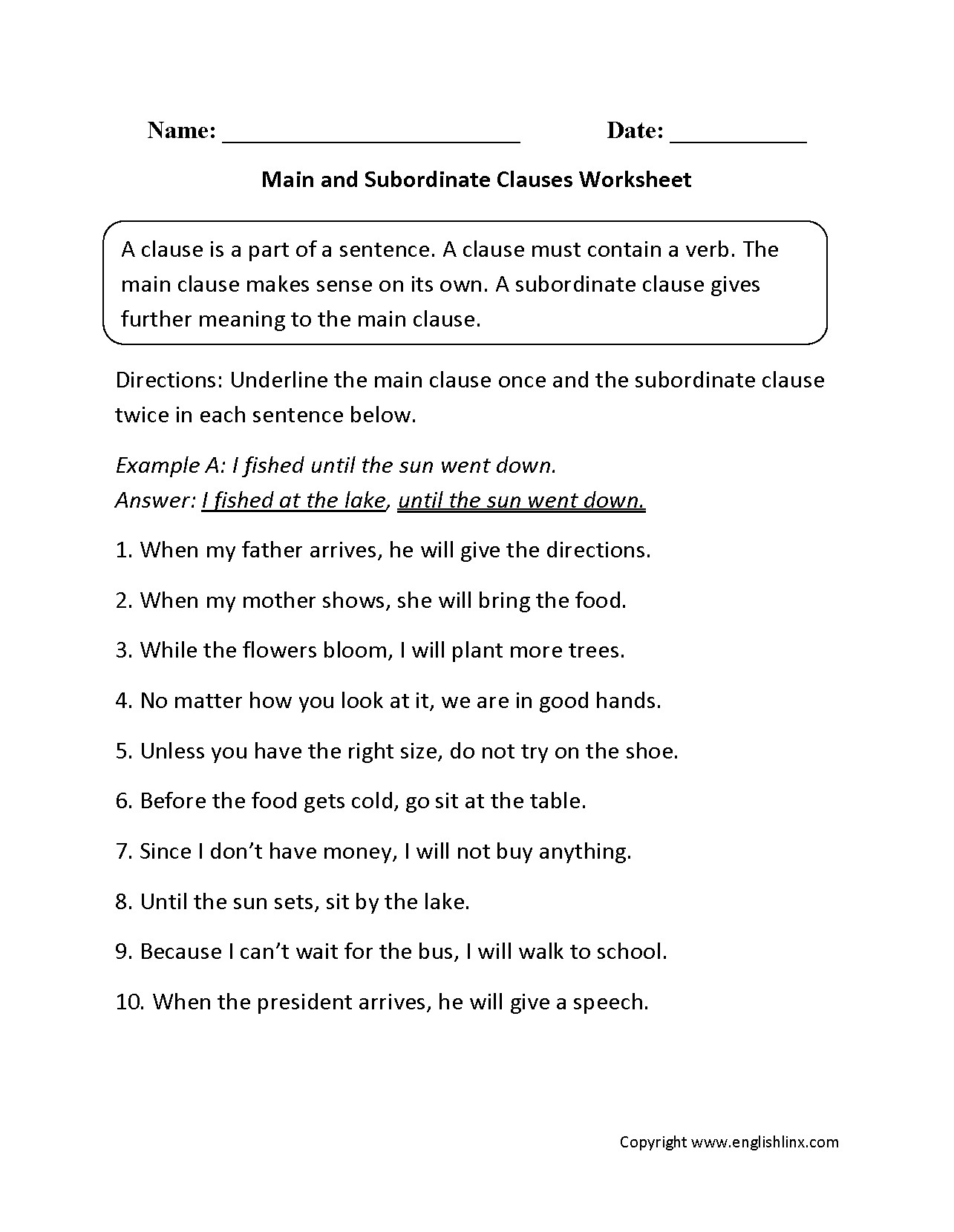 Subject Verb Agreement Worksheet K12