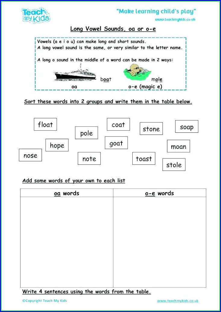 Th Sound Words Worksheet