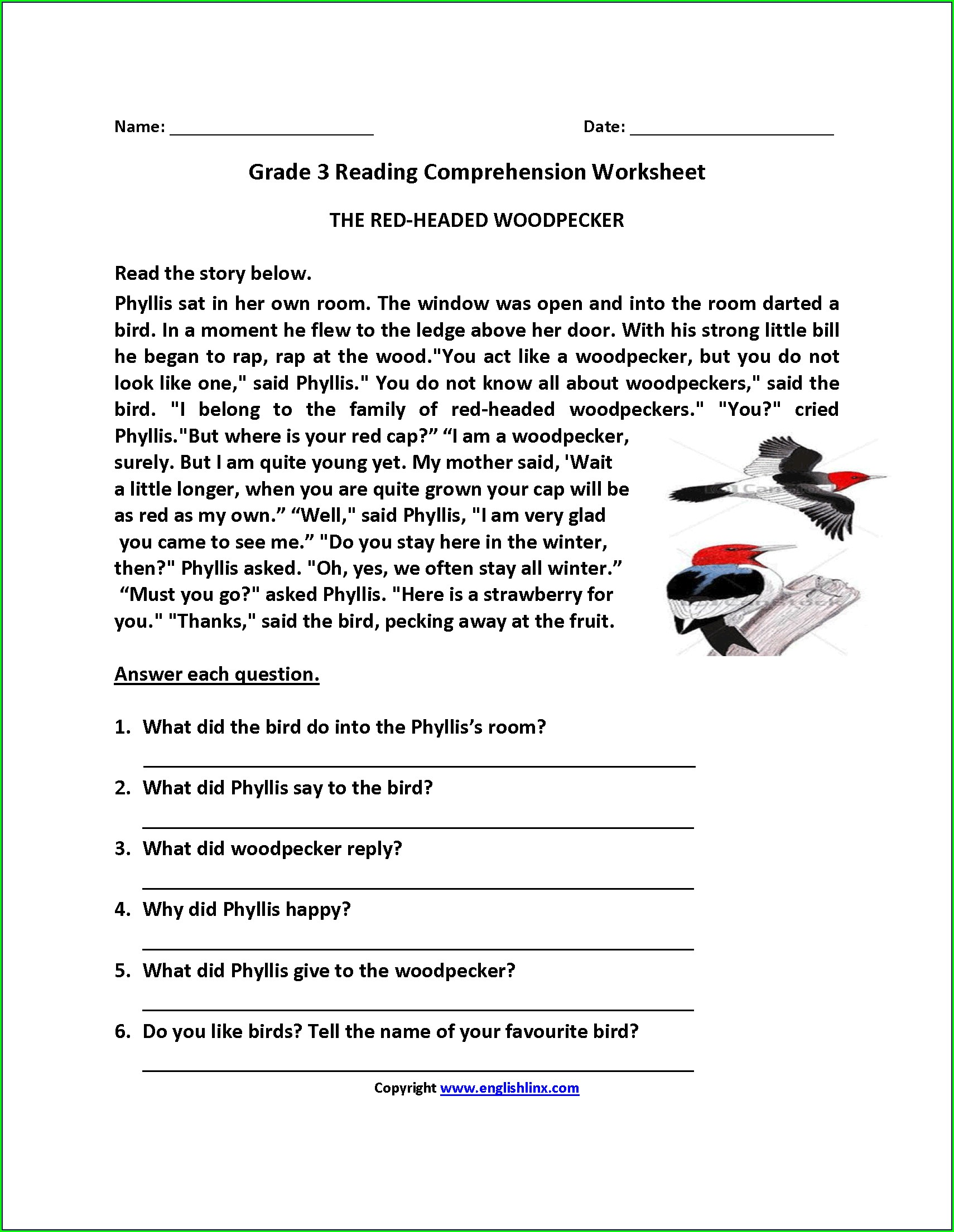 Third Grade 3rd Grade Spelling Worksheets