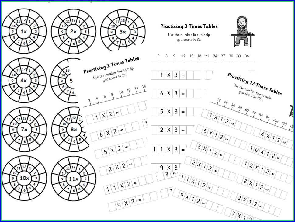 Times Tables Worksheets Nz