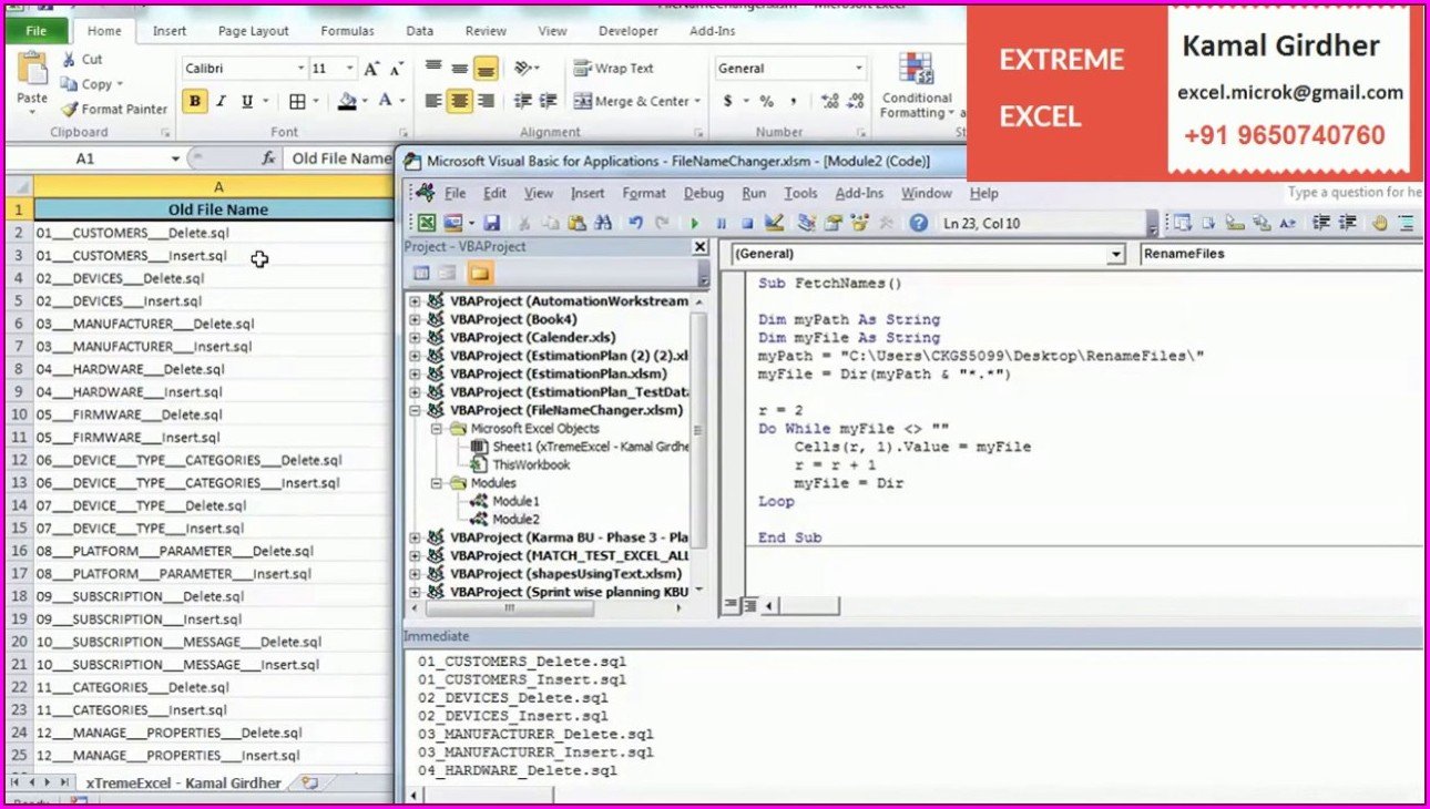 Vba Rename Workbook Without Saving