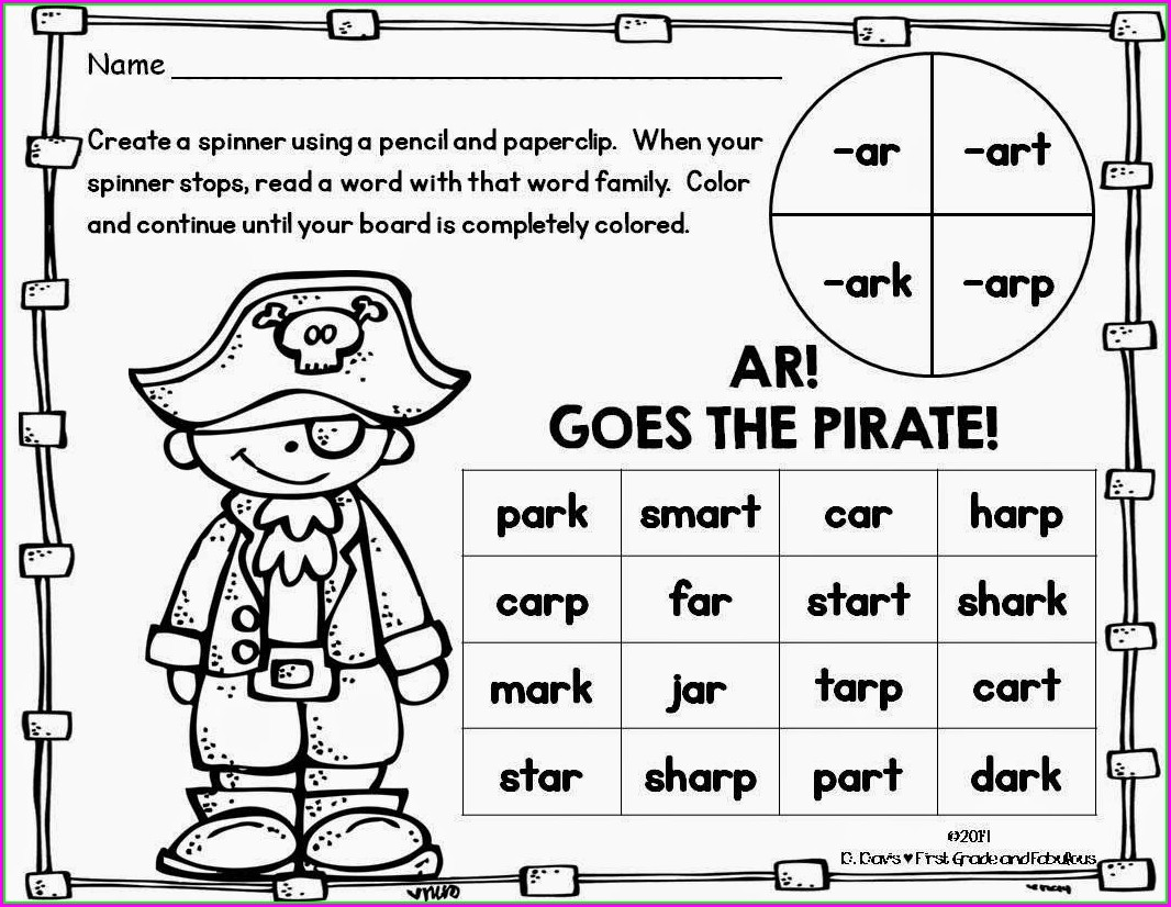 Worksheet In English For Kindergarten