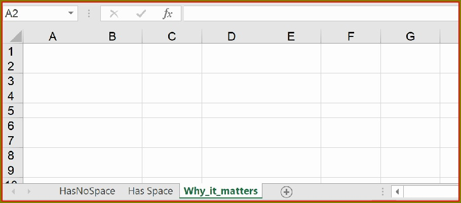 Worksheet Name In Excel