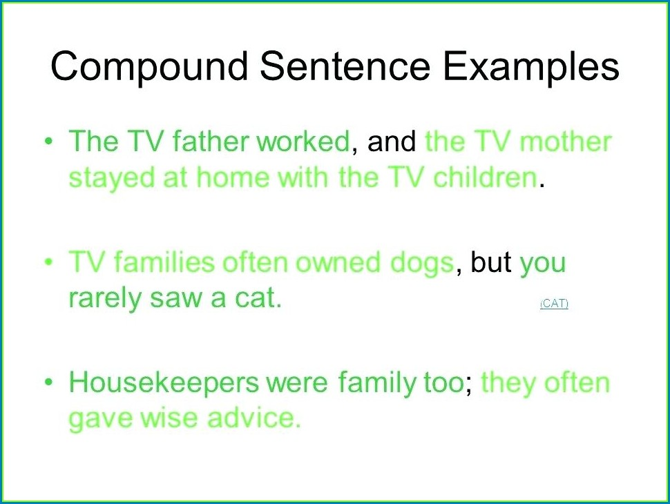 Writing Compound Sentences Worksheet Pdf