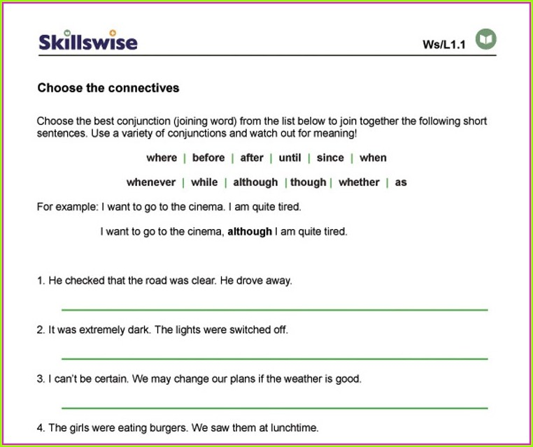 Year 7 English Worksheets Pdf