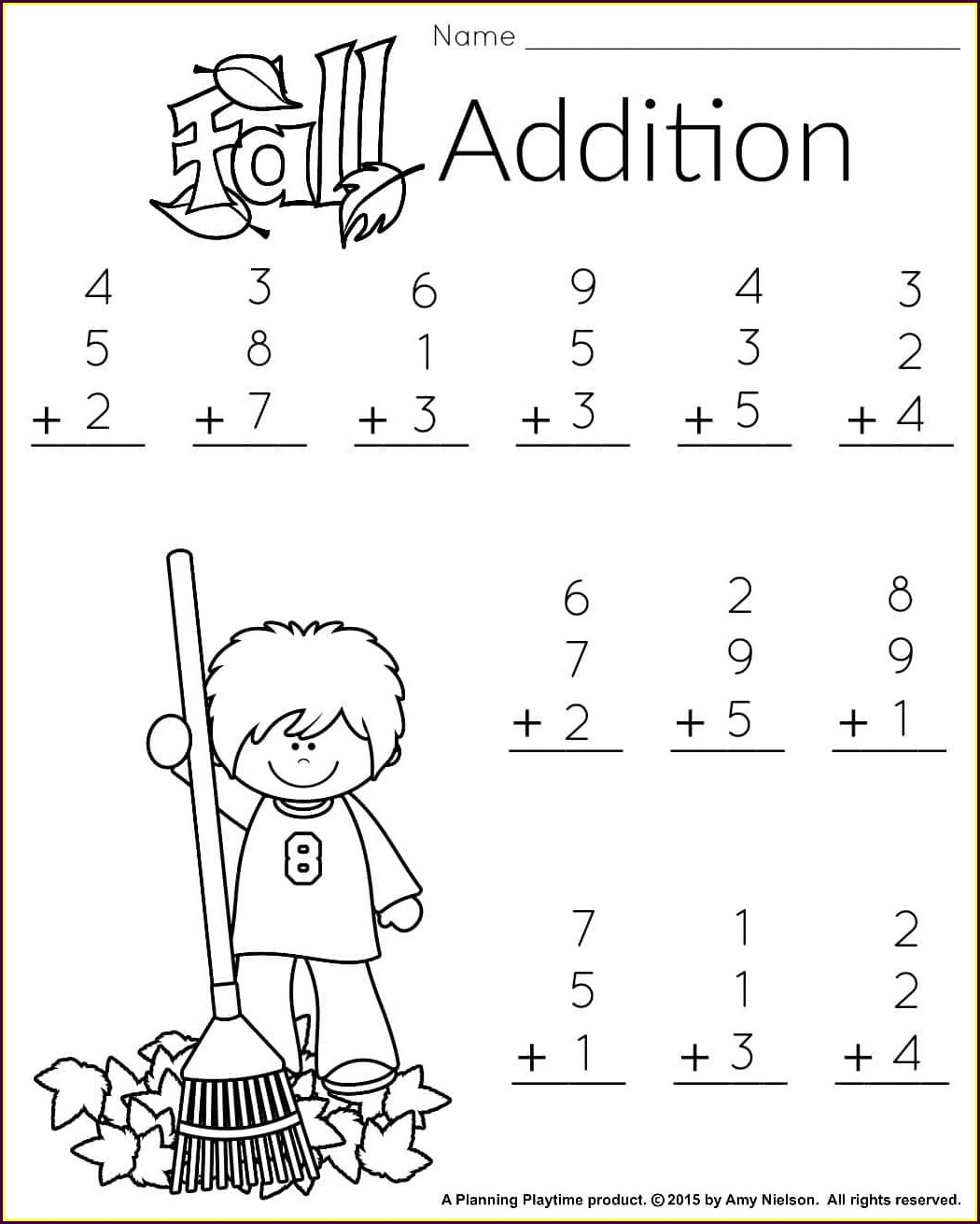 1st Grade First Grade Math Worksheets