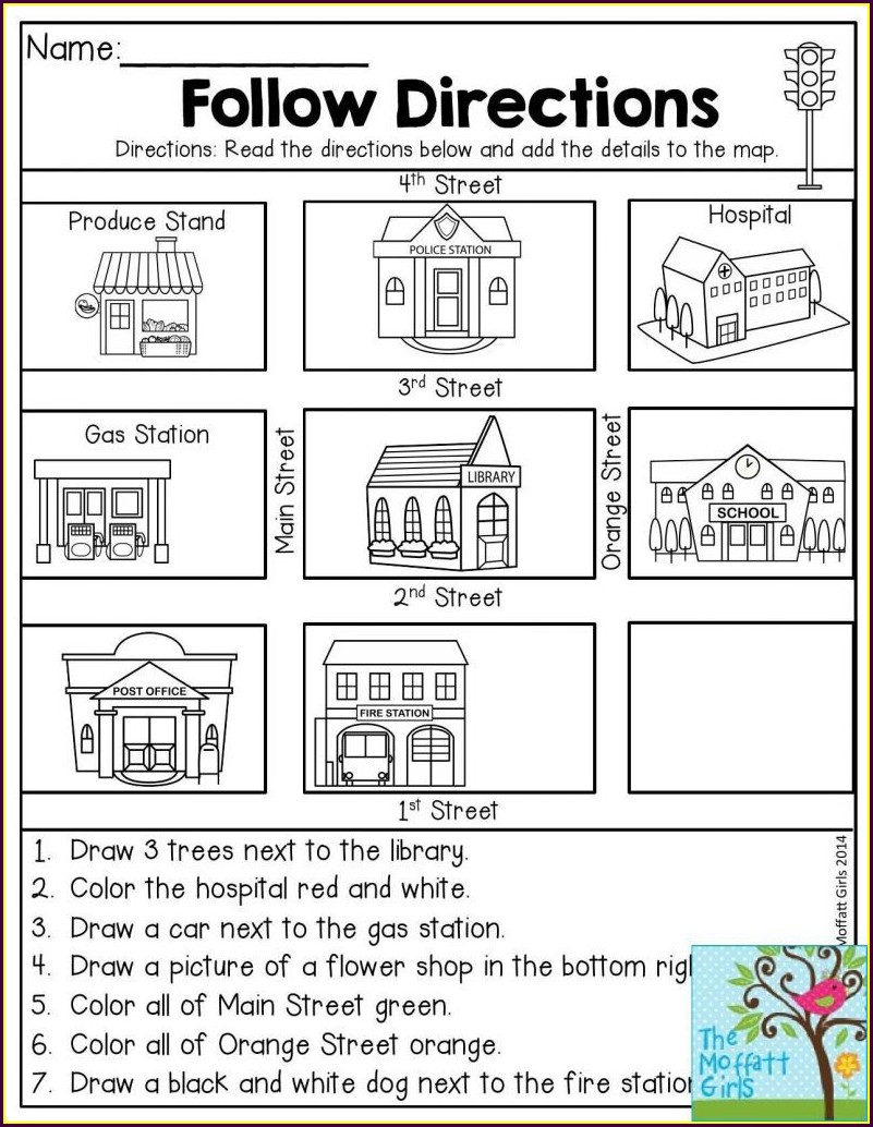 1st Grade Social Studies Worksheets For Kindergarten